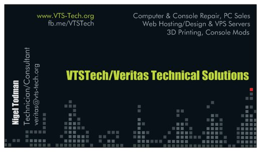 Welcome to VTSTech|Veritas Technical Solutions|Online Shop